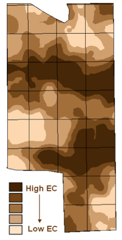 Soil EC Map image