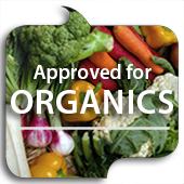 Approved for Organics button link image