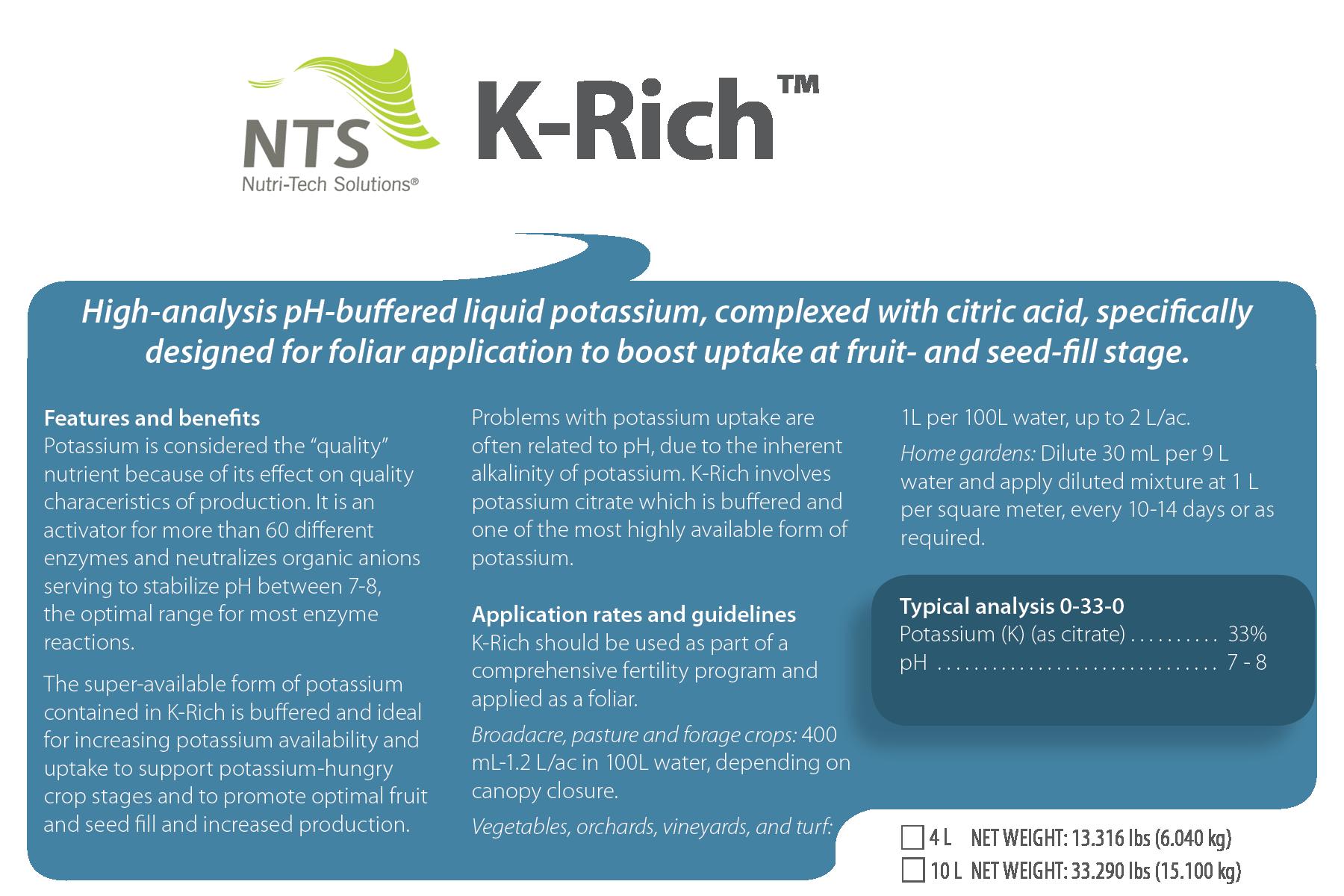 NTS K-Rich