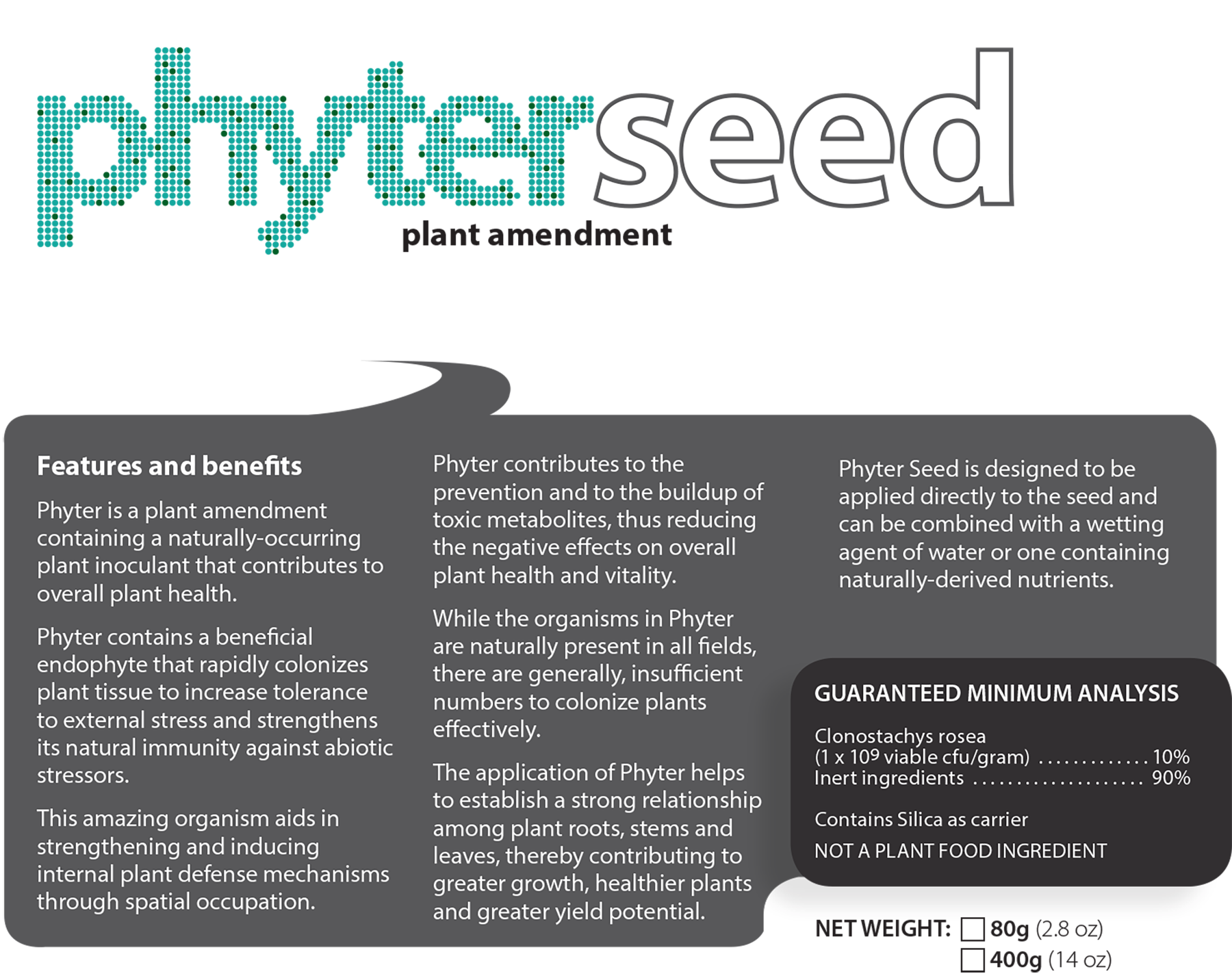 Phyter Seed