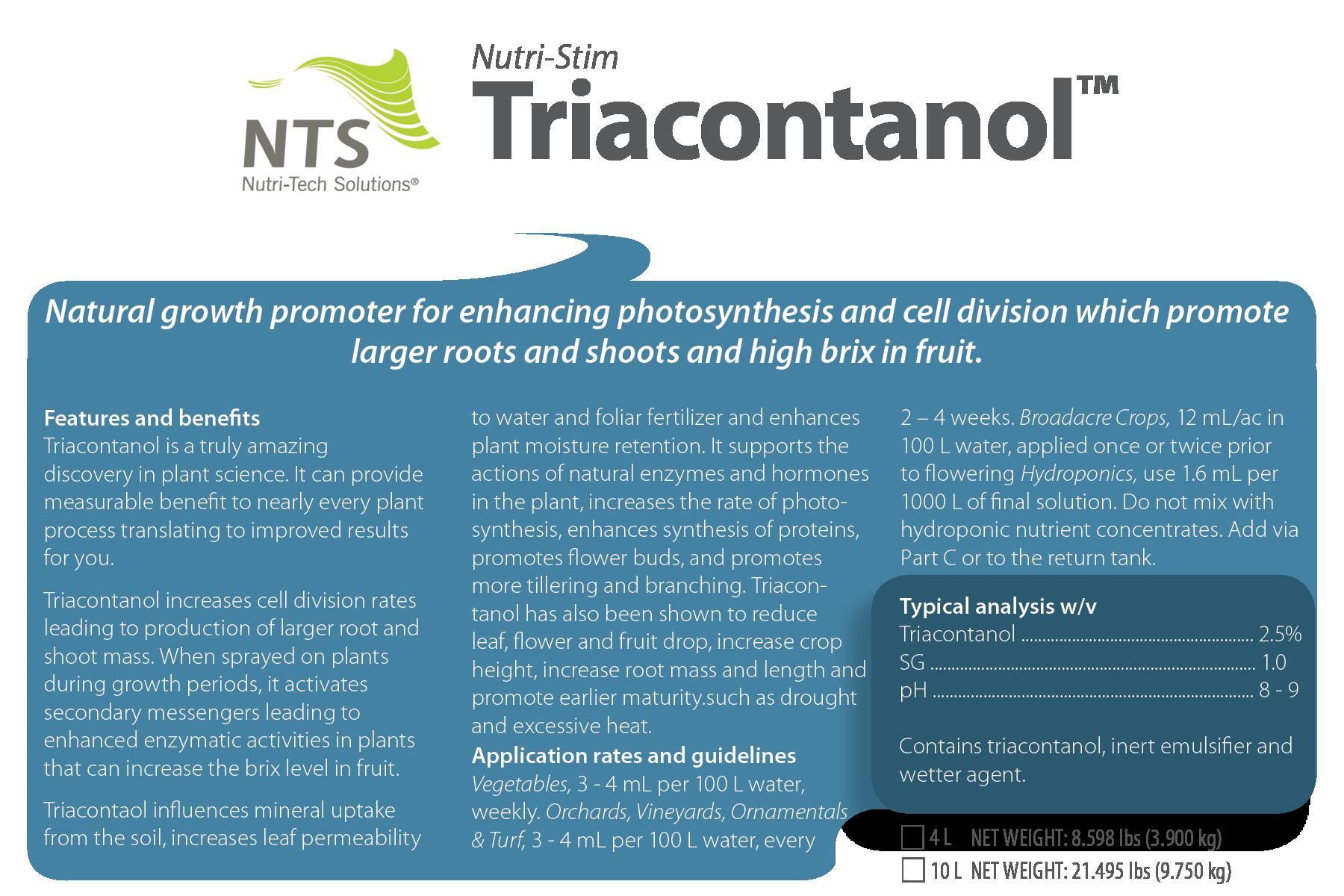 Nutri-Stim™ Triacontanol