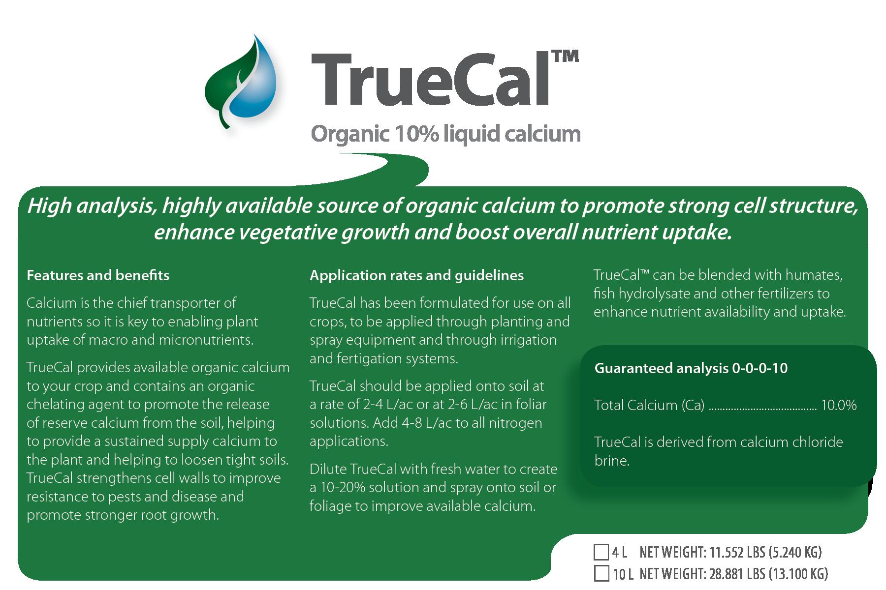 TrueCal organic
